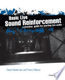 Basic Live Sound Reinforcement
