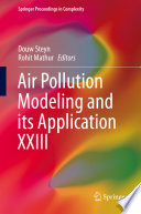 Air Pollution Modeling And Its Application Xxiii book