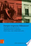 Europas vergessene Diktaturen?