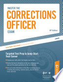 Master the Corrections Officer  Practice Test 1
