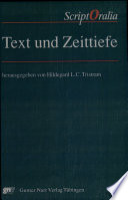 Text und Zeittiefe