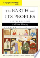 Cengage Advantage Books  The Earth and Its Peoples