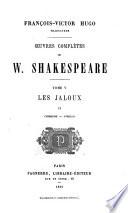 Uvres Compl Tes De W Shakespeare Les Jaloux Cymbeline Othello