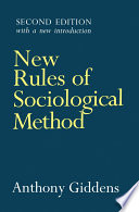 New Rules of Sociological Method