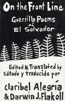 Guerrilla Poems Of El Salvador