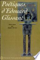 Po  tiques d Edouard Glissant