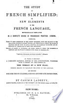 The Study Of French Simplified