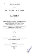 History Of The Oceanic And Of The American Nations 1847