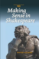 Making Sense in Shakespeare