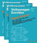 Volkswagen Eurovan Repair Manual 1992 1999