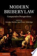 Modern Bribery Law