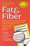 The NutriBase Guide to Fat & Fiber in Your Food