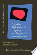 Cognitive Exploration of Language and Linguistics