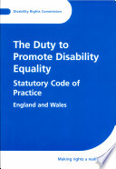 The Duty to Promote Disability Equality