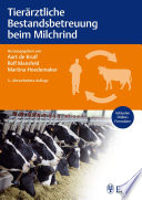 Tier  rztliche Bestandsbetreuung beim Milchrind