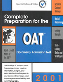 Complete Preparation for the OAT  2001