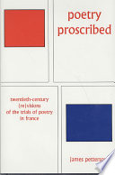 Poetry Proscribed