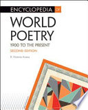 Encyclopedia of World Poetry