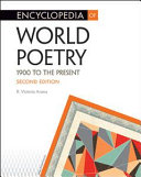 Book Encyclopedia of World Poetry