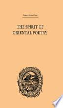 The Spirit of Oriental Poetry