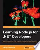 Learning Node Js For Net Developers