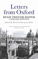 Letters from Oxford