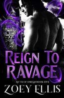 Reign To Ravage Book PDF
