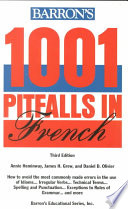 Barron's 1001 Pitfalls in French