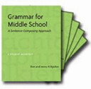 Grammar for Middle School  Ten Pack