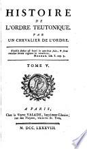 Histoire de l'Ordre teutonique