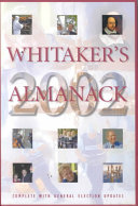 Whitaker s Almanack 2002 Book PDF