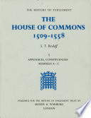 The House Of Commons 1509 1558