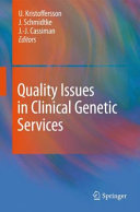 Quality Issues in Clinical Genetic Services