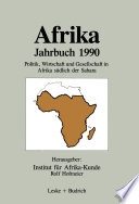 Afrika Jahrbuch 1990