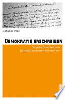 Demokratie erschreiben