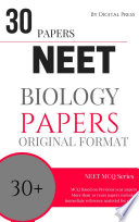 Biology Previous Year Papers For Neet Exam Pdf Format