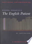 download ebook michael ondaatje's the english patient pdf epub