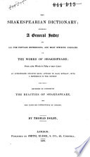 The Shakespearian Dictionary
