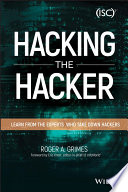 Hacking The Hacker : of the trade hacking the hacker takes...