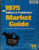 Editor & Publisher Market Guide