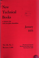 New Technical Books book