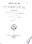 Encyclop Die D Architecture
