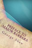 Preface to Major Barbara