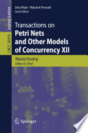 Transactions on Petri Nets and Other Models of Concurrency XII