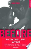 Before Saison 1 Prix Du Meilleur Auteur Festival New Romance 2016
