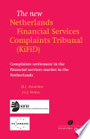 The New Netherlands Financial Services Complaints Tribunal  KiFiD