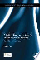 A Critical Study of Thailand   s Higher Education Reforms