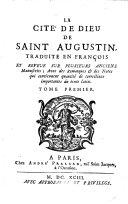 Book LA CITÉ DE DIEUM DE SAINT AUGUSTIN