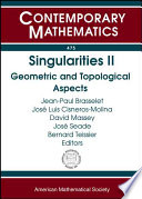 illustration Singularities: Geometric and topological aspects