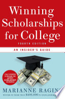 Winning Scholarships For College Fourth Edition